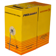 Кабель FTP 2PR 24AWG CAT5 Proconnect, CCA, 305 м -